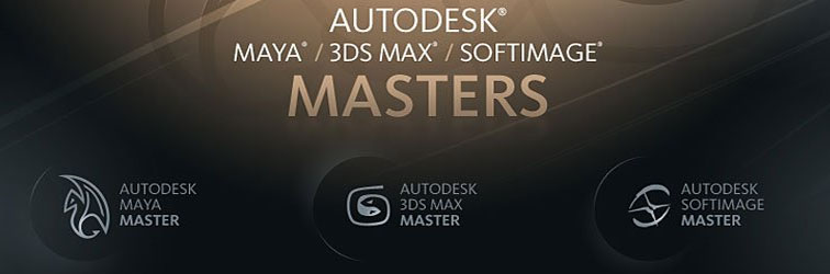 I won! The Autodesk 3ds max Master award