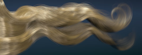 Ornatrix and Vray hair rendering